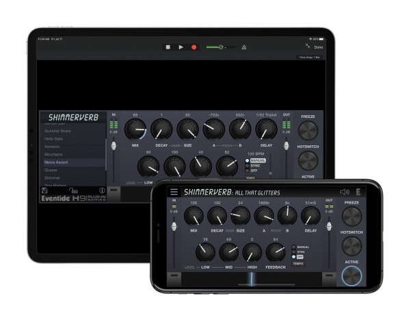 Eventide ShimmerVerb on iOS