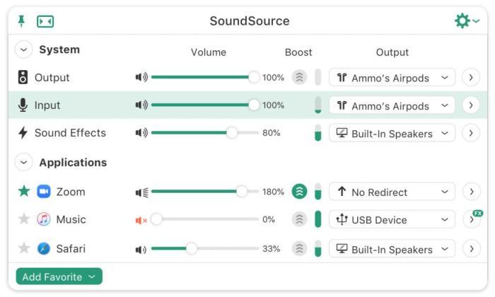 Rogue Amoeba SoundSource 5