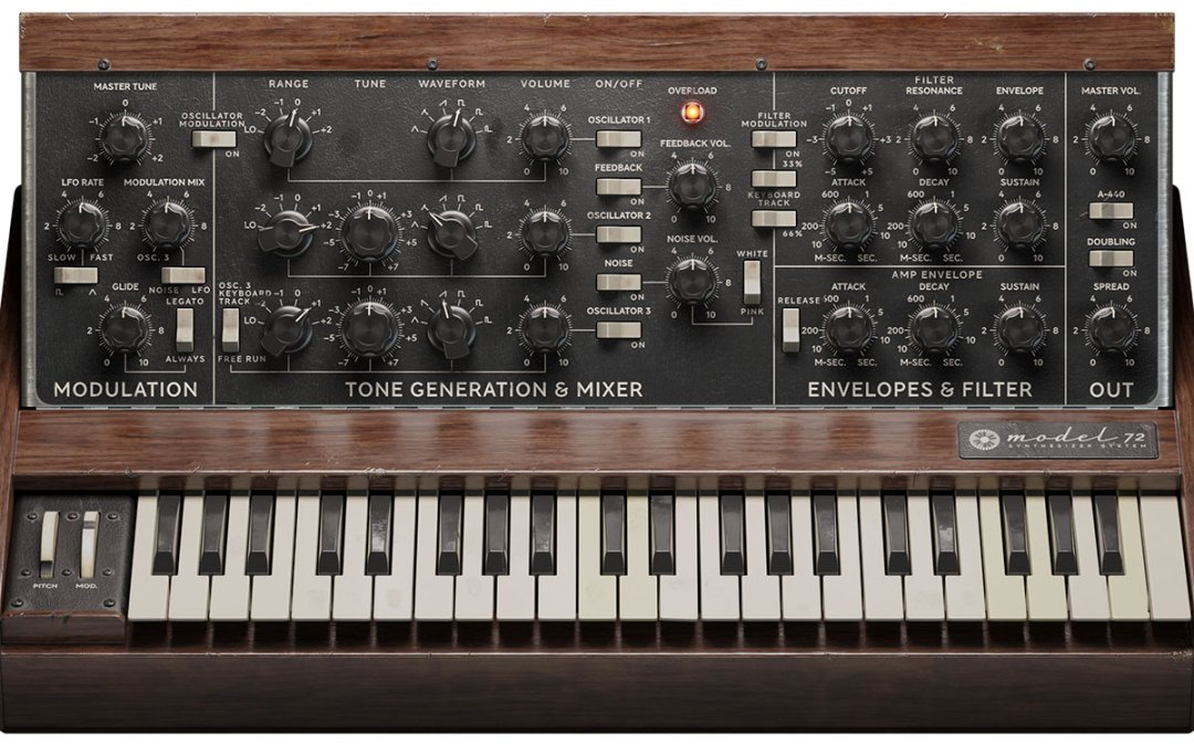 Softube presents the Model 72 Synthesizer System