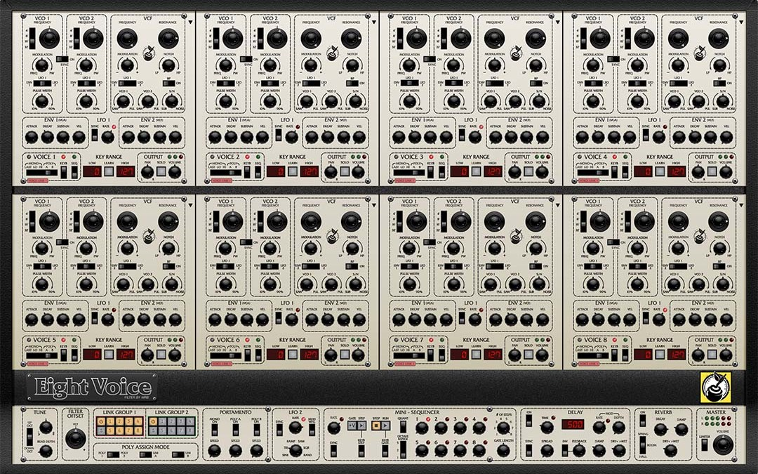Cherry Audio Eight Voice evokes classic Oberheim original