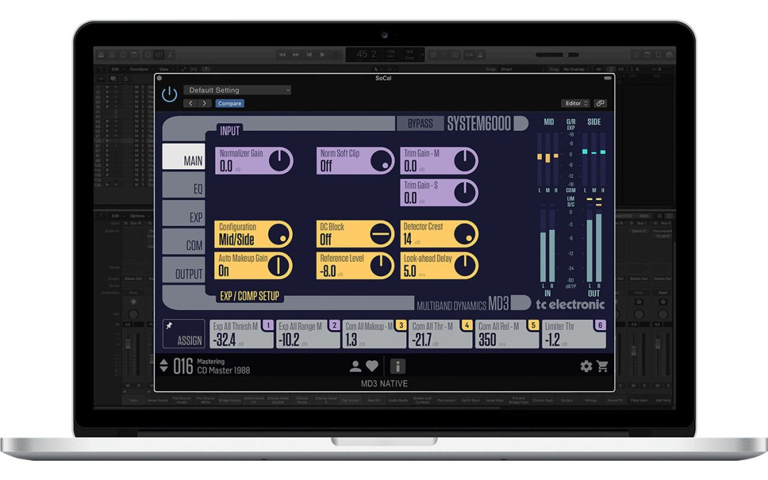 TC Electronic announces System 6000 Native Plugins