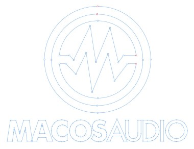 macOS Audio logo construction