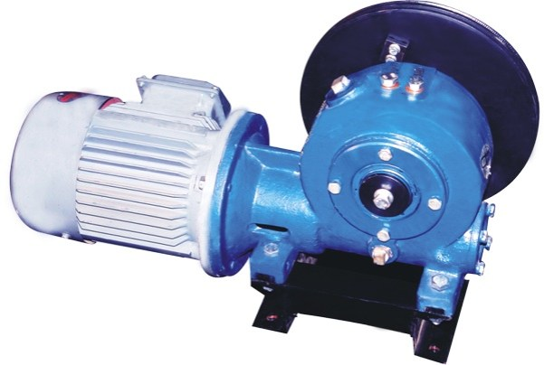 pile winding winch