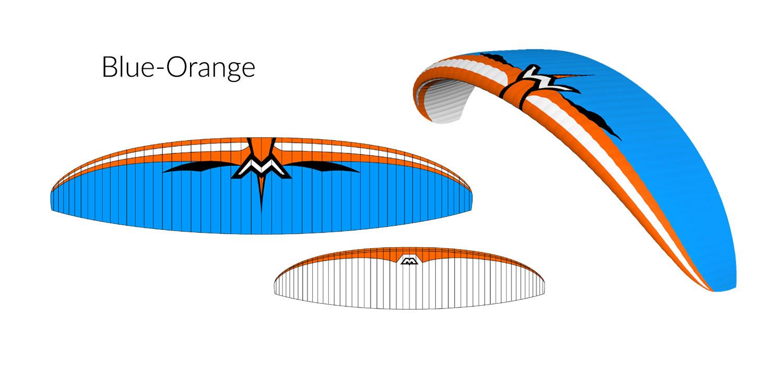 Blue-Orange Design Illusion