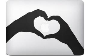 personnaliser macbook - stickers pub mac