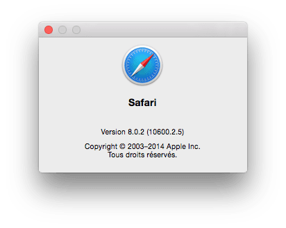 safari yosemite 8.0.2 update