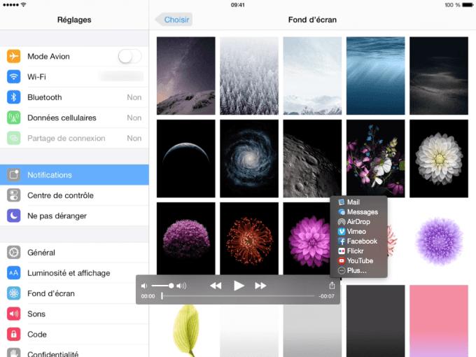 capturer une video iPhone partager sur reseaux