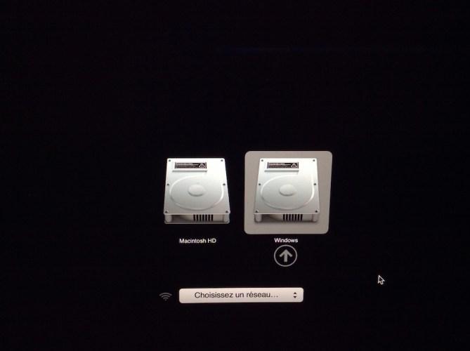 Dual boot El Capitan choix demarrage