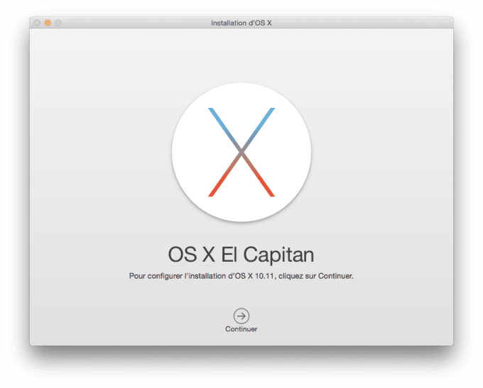 installation propre mac el capitan