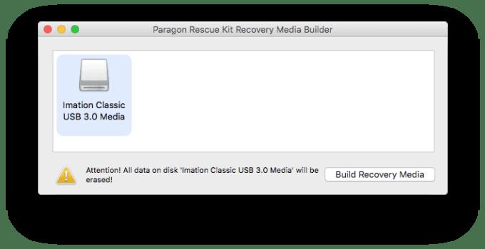 Mac ne demarre pas formater cle usb