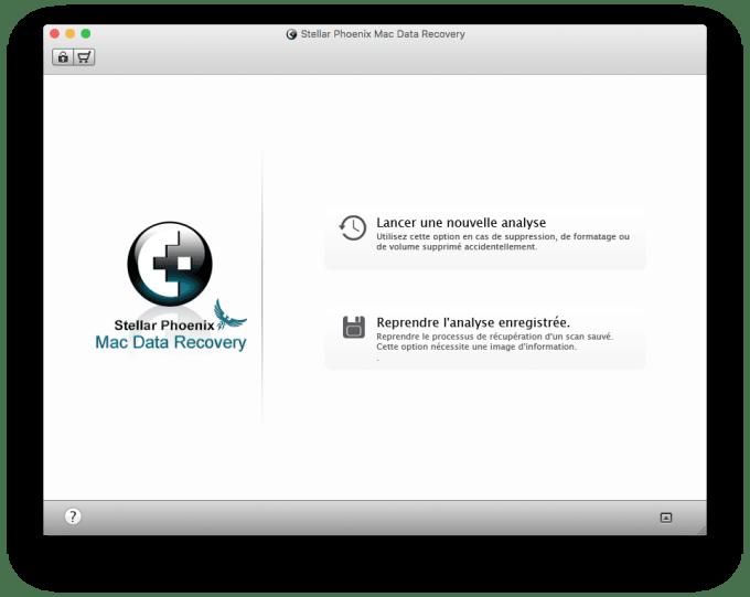 restaurer un fichier efface sur Mac lancer une nouvelle analyse
