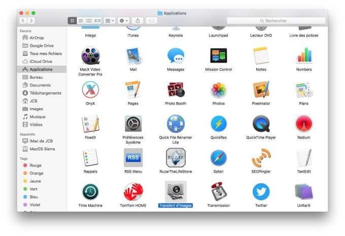 Supprimer toutes les photos sur un iPhone iPad transfert images