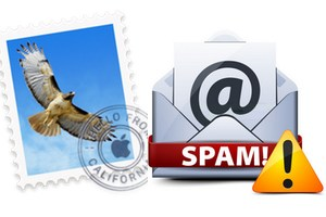 gerer les spams sur mac apple mail