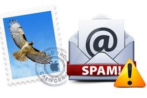 gerer les spams sur mac apple mail