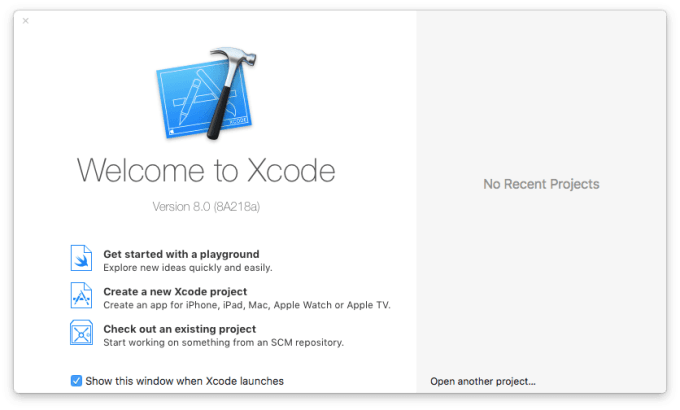 installer xcode macos sierra version 8