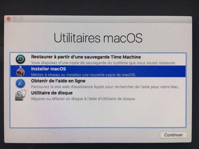 Downgrade macOS High Sierra installer macos sierra