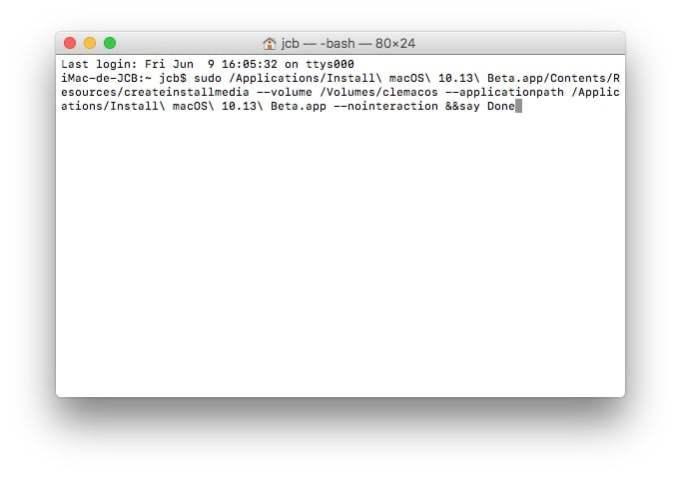 creation bootable mac os high sierra tutoriel
