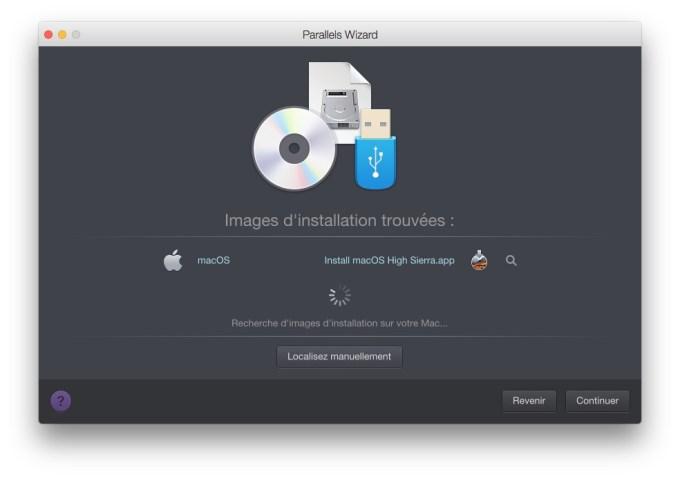 apps compatibles macOS High Sierra installation virtuelle