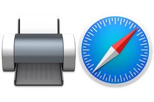 Imprimer une page web sans publicité sur Safari Mac