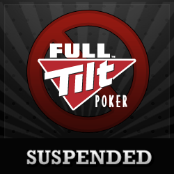 Full Tilt Poker Suspended