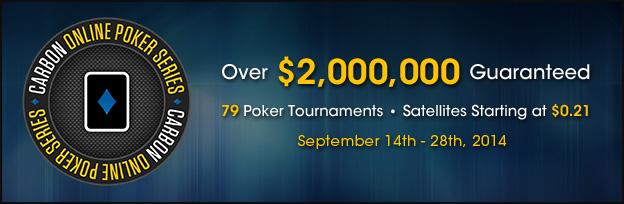Carbon Poker OPS Promotion