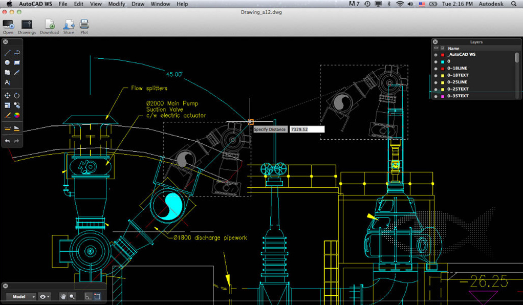 AutoCAD WS for Mac and iOS Review  MacReviewcom