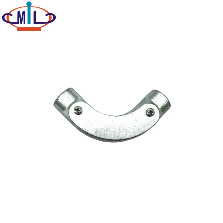 Galvanized Malleable iron electrical fittings inspection