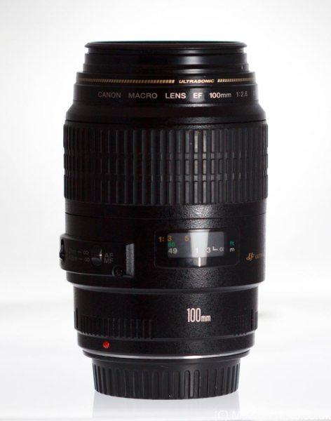 Canon 100mm F2.8 USM Macro Lens