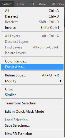 Select - Focus Area