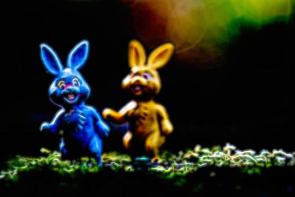 Evil Easter Bunnies
