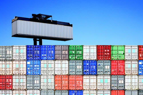 Container yard management software