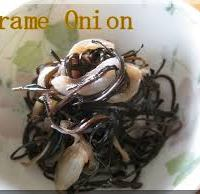 SEA VEGETABLES: Arame and Onions with Lemon-Ginger Zip