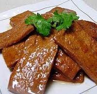 TOFU, TEMPEH & OTHER PROTEIN:  Savory Seasoned Dried Tofu
