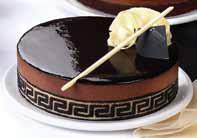 Torta parfait de chocolate