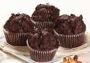 Muffin de chocolate con chips de chocolate