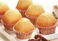 Mini muffin de vainilla