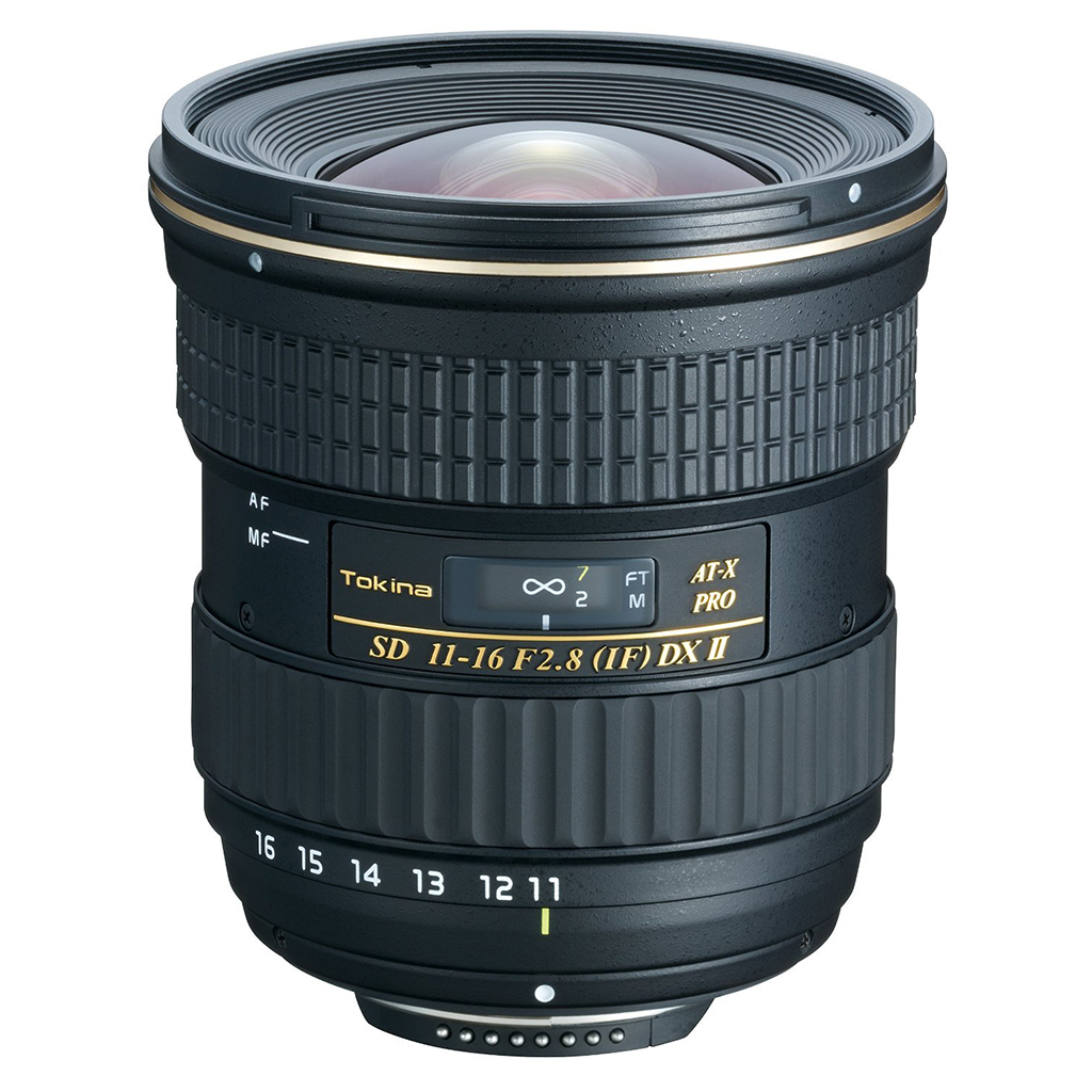 Tokina 11-16mm AT-X116 Pro DX II Lens