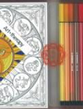 Cofanetto Art Therapy Zodiaco - Con Colori Stabilo