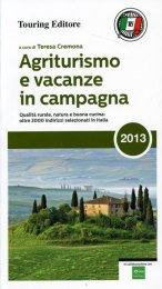 Agriturismo e Vacanze in Campagna 2013