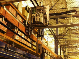 Macron large-scale sorting gantry