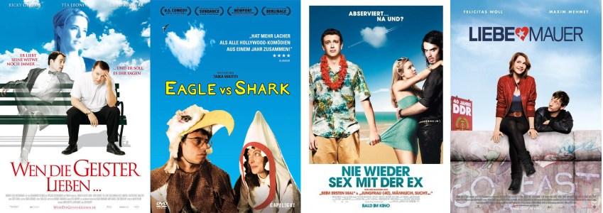 Romantic Comedy und blauer Himmel