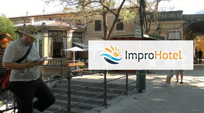 macro auf Mallorca nach dem Impro-Hotel