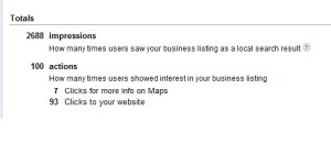 Track your Google places activities