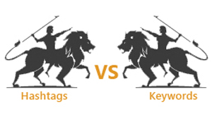 Hashtags vs Keywords