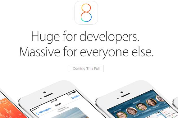 iOS8 SDK for developers