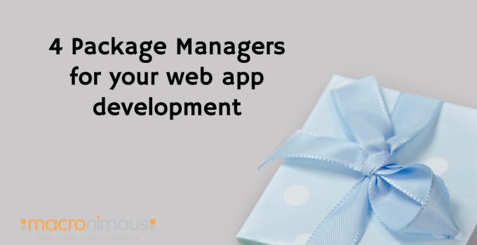 Package Managers for Web Development