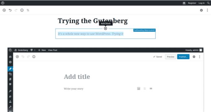 WordPress GutenBerg How to