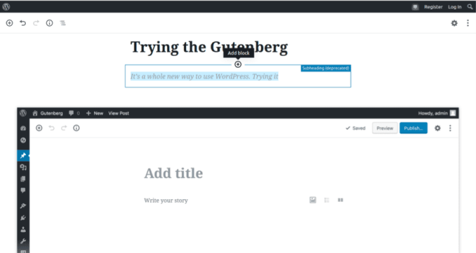 WordPress GutenBerg How to