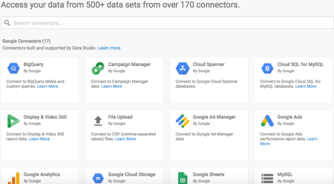 Data Source connection for SEO Agency