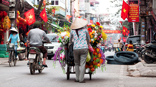 Vietnam's capital, Hanoi